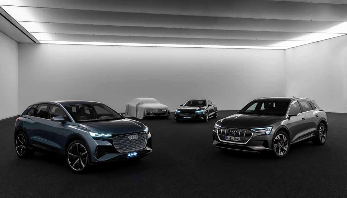 Concept delle Audi elettriche
