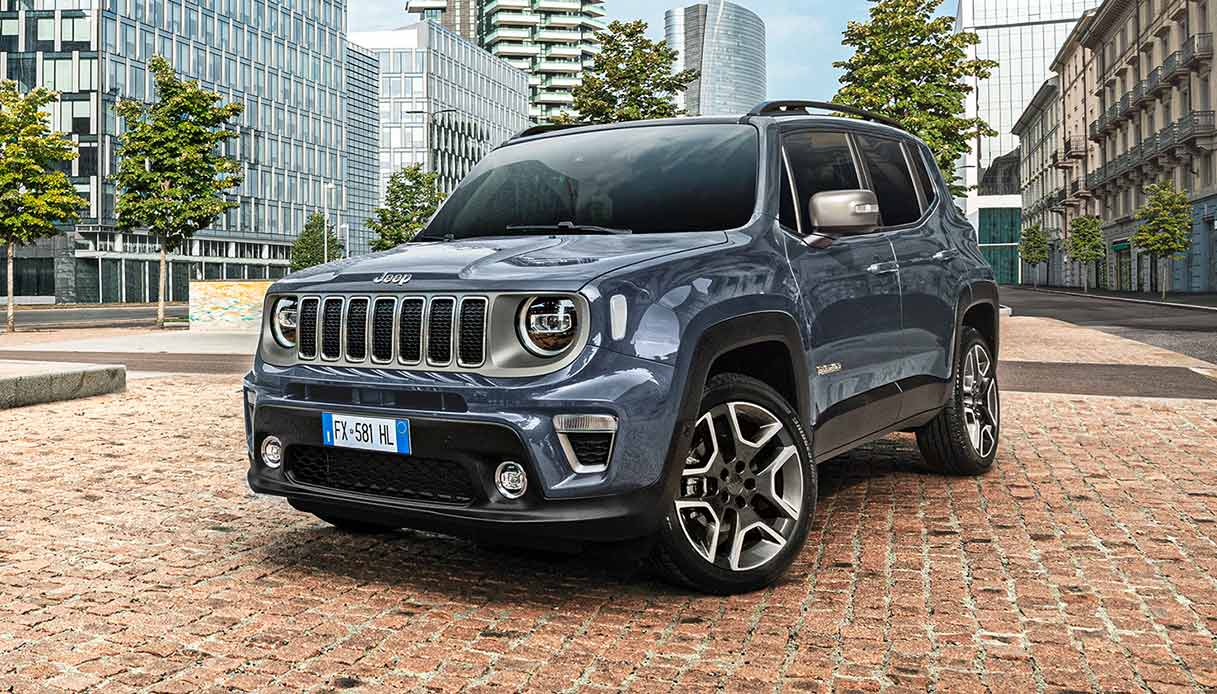 Jeep Renegade Model Year 2020