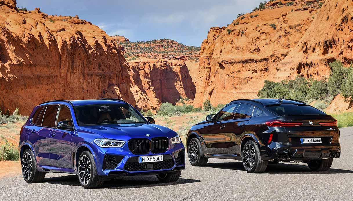 BMW X5 M e BMW X6 M