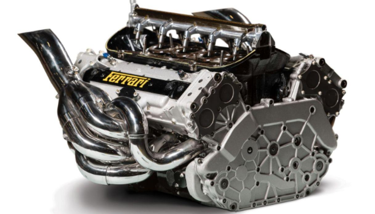 asta motore ferrari f2002 schumacher