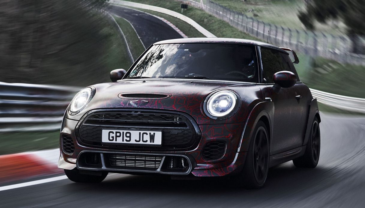 nuova mini john cooper works gp