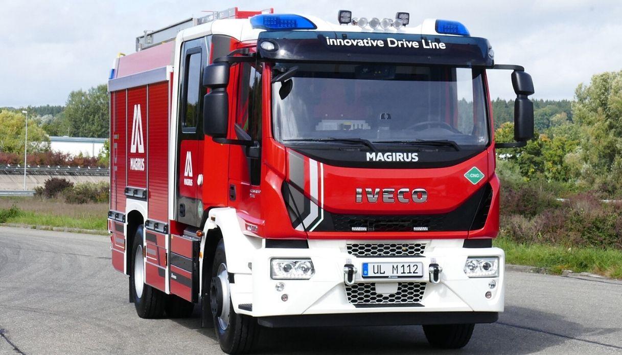 primo veicolo antincendio metano