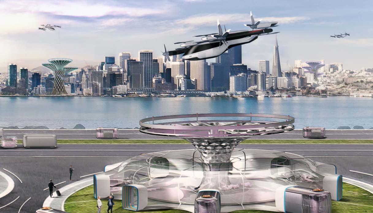Concept Hyundai dei veicoli volanti