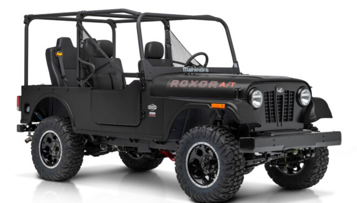 mahindra copia jeep