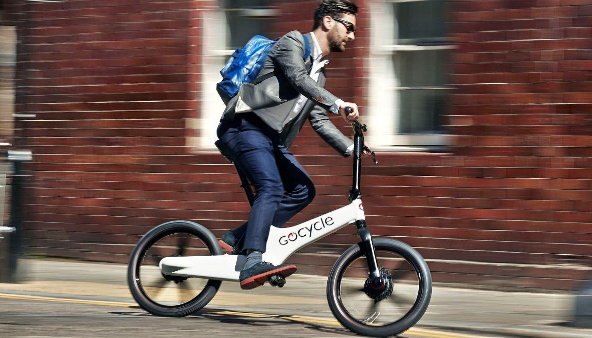 gocycle g3 pieghevole